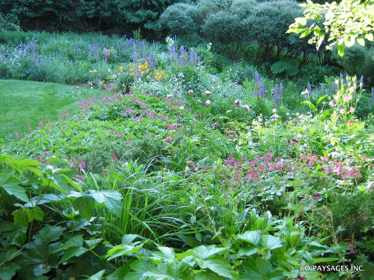 Jardins de fleurs k paysages for Jardin fleuri